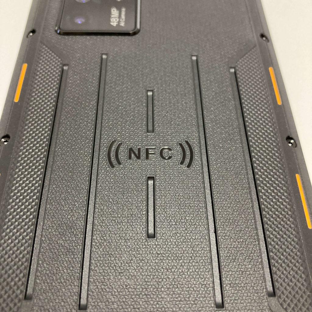 WP10のNFCセンサー