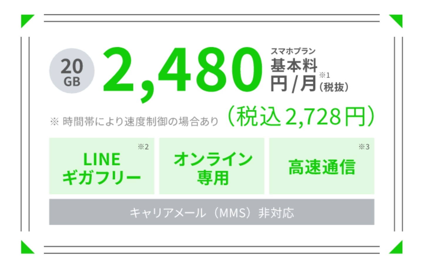 LINEMOの概要