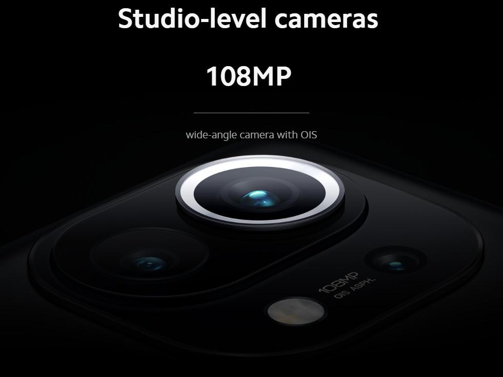Mi 11の108MPカメラ
