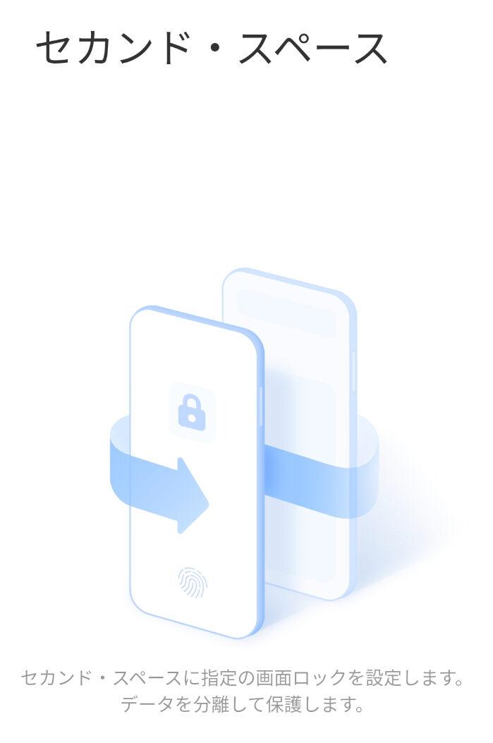 Xiaomiのセカンドスペース