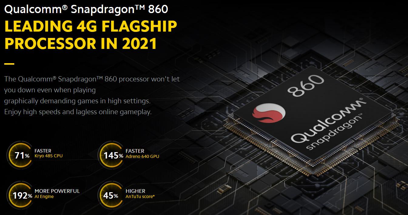 POCO X3 ProはSnapdragon 860搭載