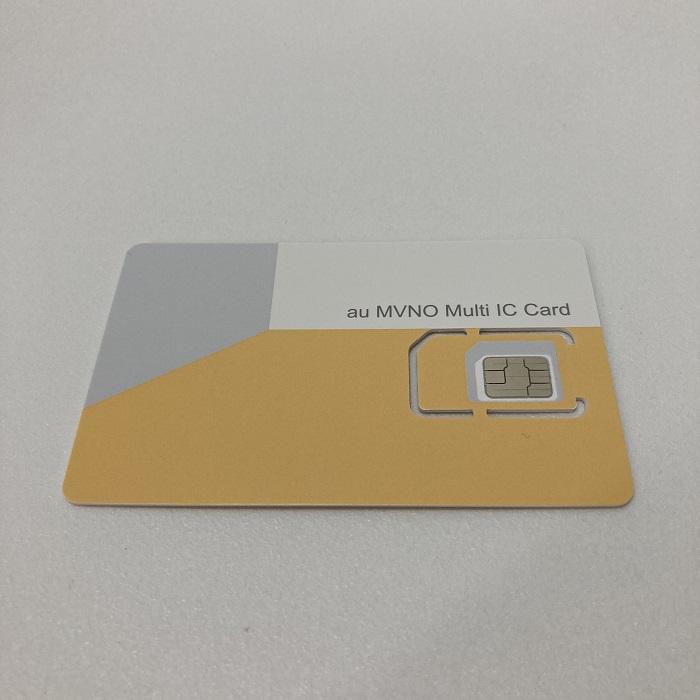 J:COM MOBILEのSIMカード