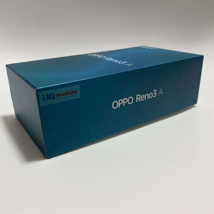 OPPO Reno3 AのUQ Mobile版