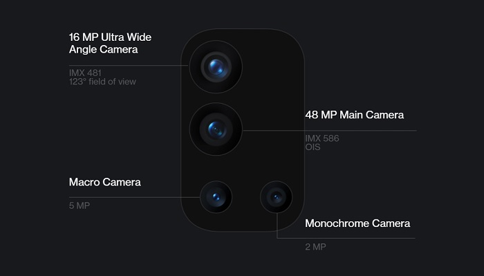 OnePlus 9Rのカメラ
