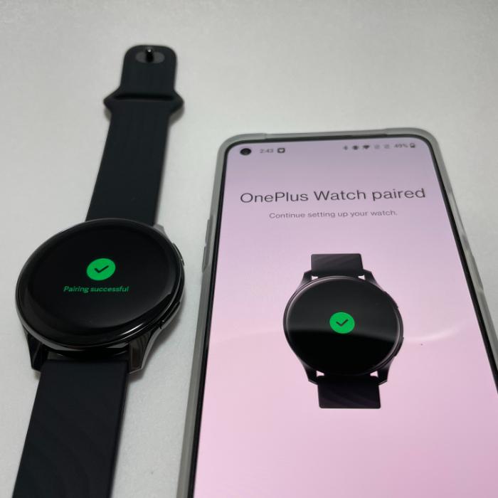 OnePlus Watchのペアリング