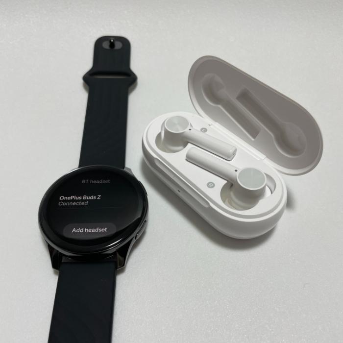 OnePlus Watchで音楽を聴く