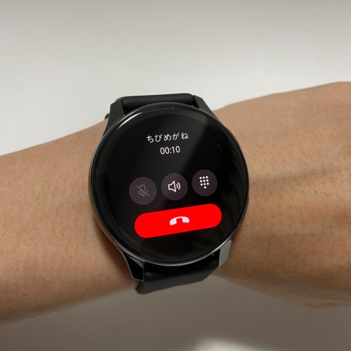 OnePlus Watchで通話