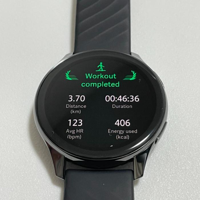 OnePlus Watchのワークアウトモード