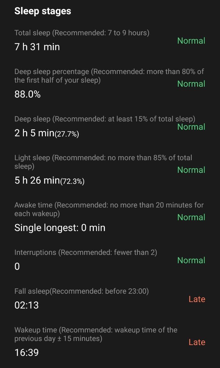 OnePlus Watchの自動計測
