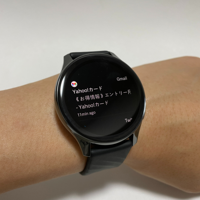 OnePlus Watchのスマホ通知