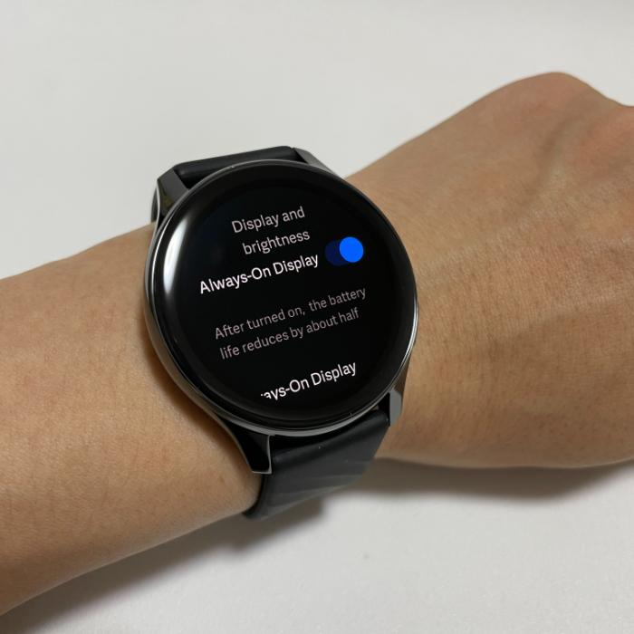 InePlus WatchのAOD
