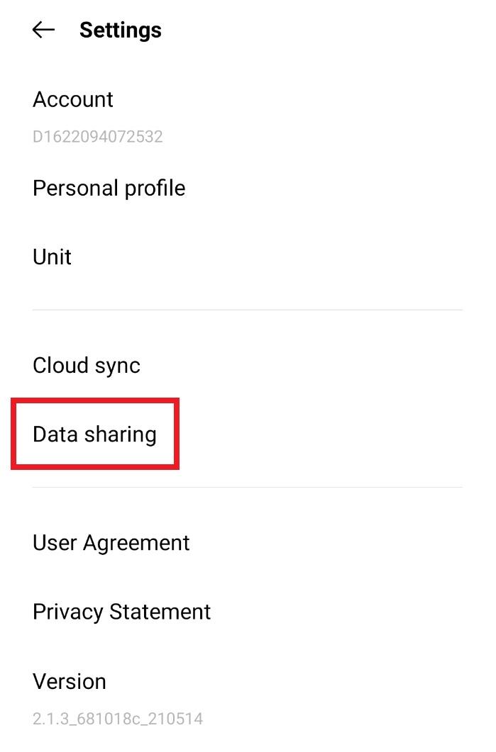 OnePlus HealthとGoogle Fit