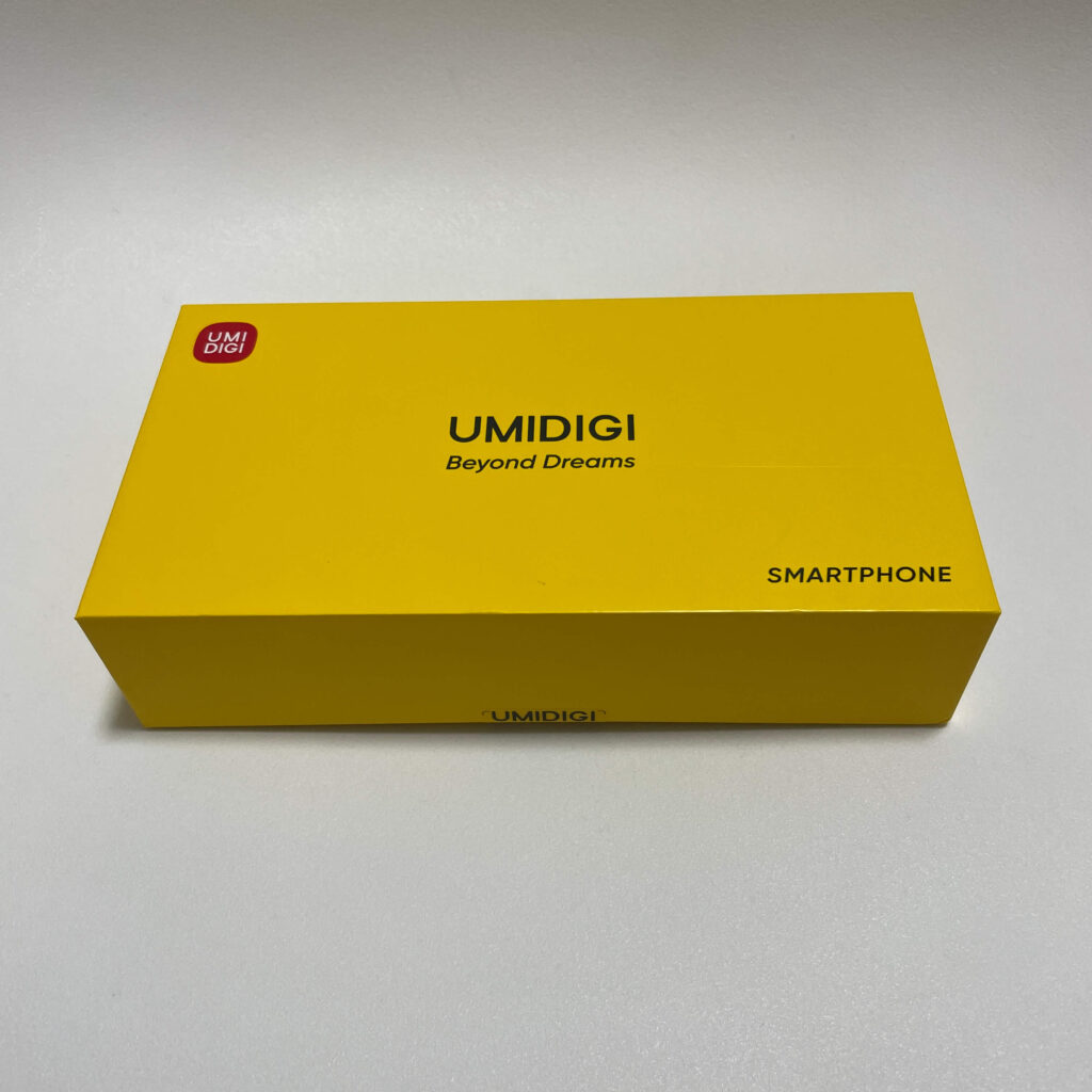 UMIDIGI A11の外箱