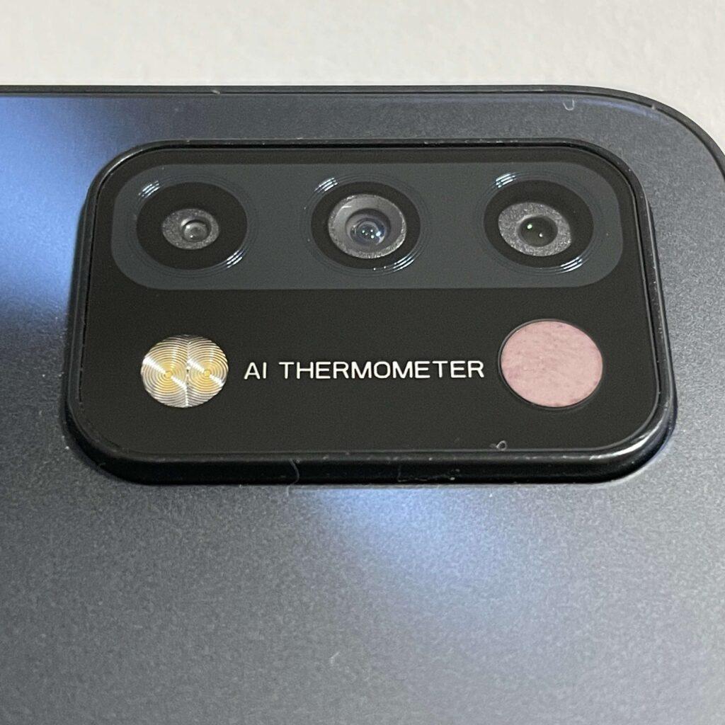UMIDIGI A11の温度計センサー