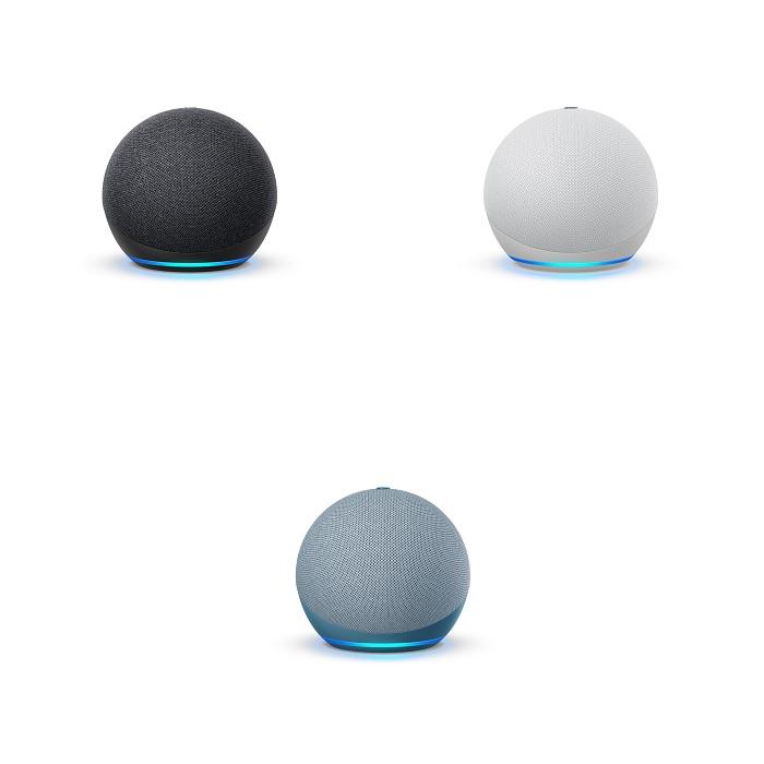 Echo Dot 第4世代のカラバリ