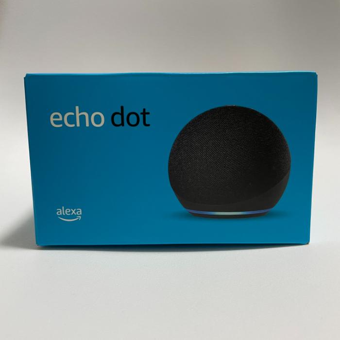 Echo Dot 第4世代の外箱