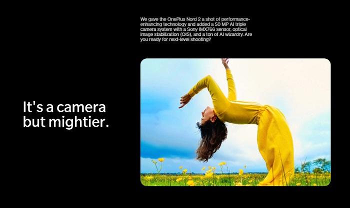 OnePlus Nord 2はIMX766搭載