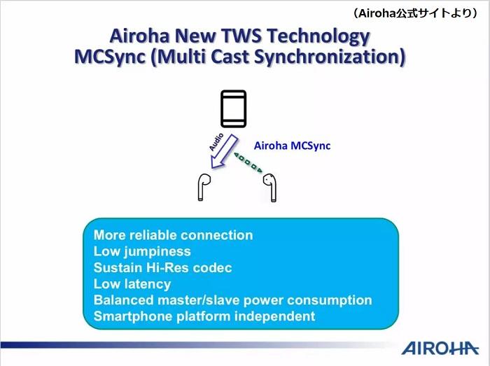 Airoha MCSync
