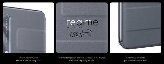 Realme Master Editionのデザイン