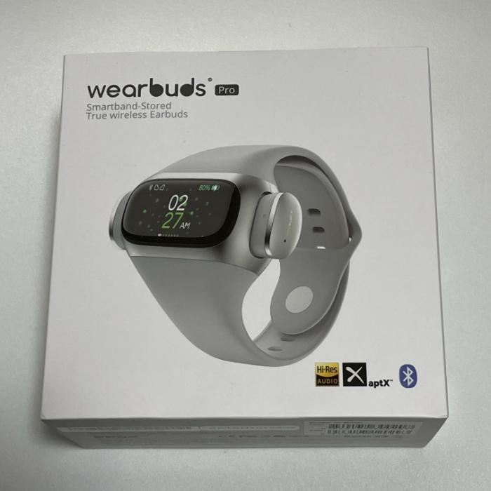 wearbuds Proの外箱