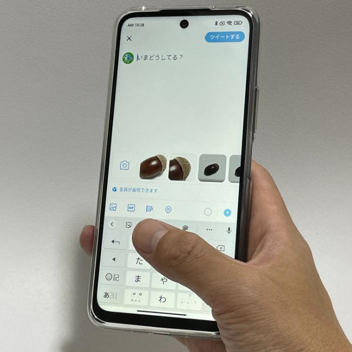 Redmi Note 10 JEのディスプレイ