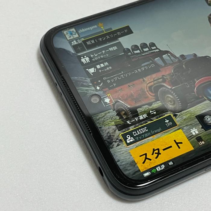 Redmi Note 10 JEのインカメラ