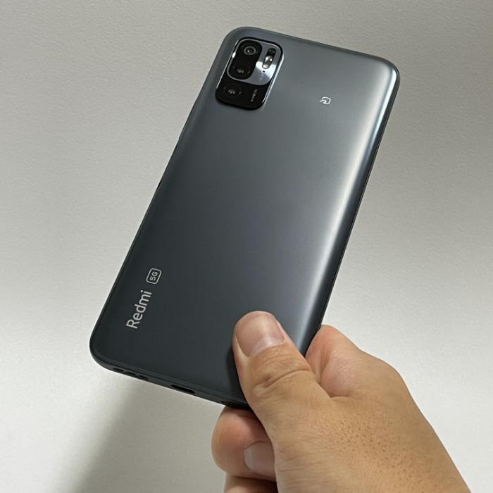 Redmi Note 10 JEのサイズ感