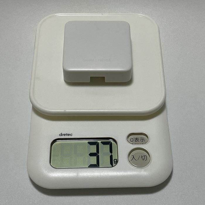 SwitchBot Hub Miniの重さ
